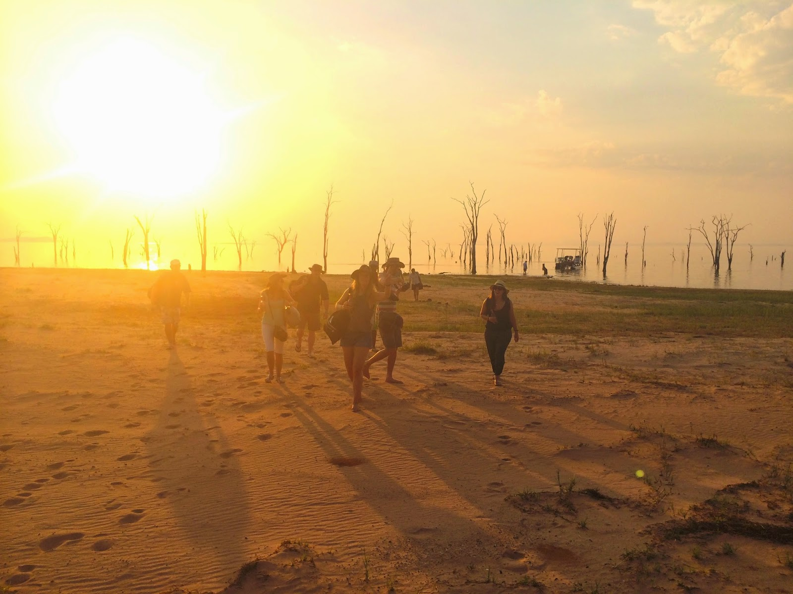 The shores of Lake Kariba - Rhino Safari Camp