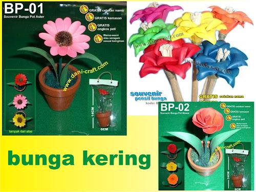 Bunga Kering Souvenir
