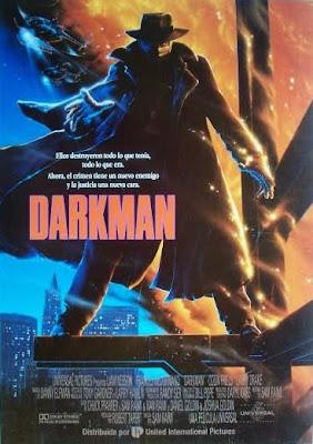 Darkman, Sam Raimi, Liam Neeson