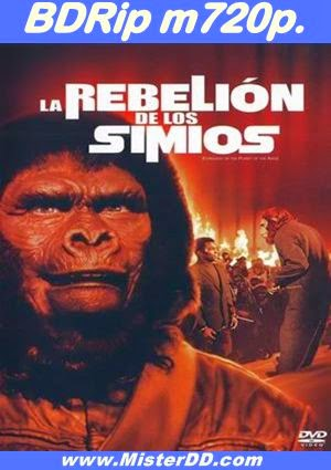 La rebelión de los simios (1972) [BDRip m720p.]