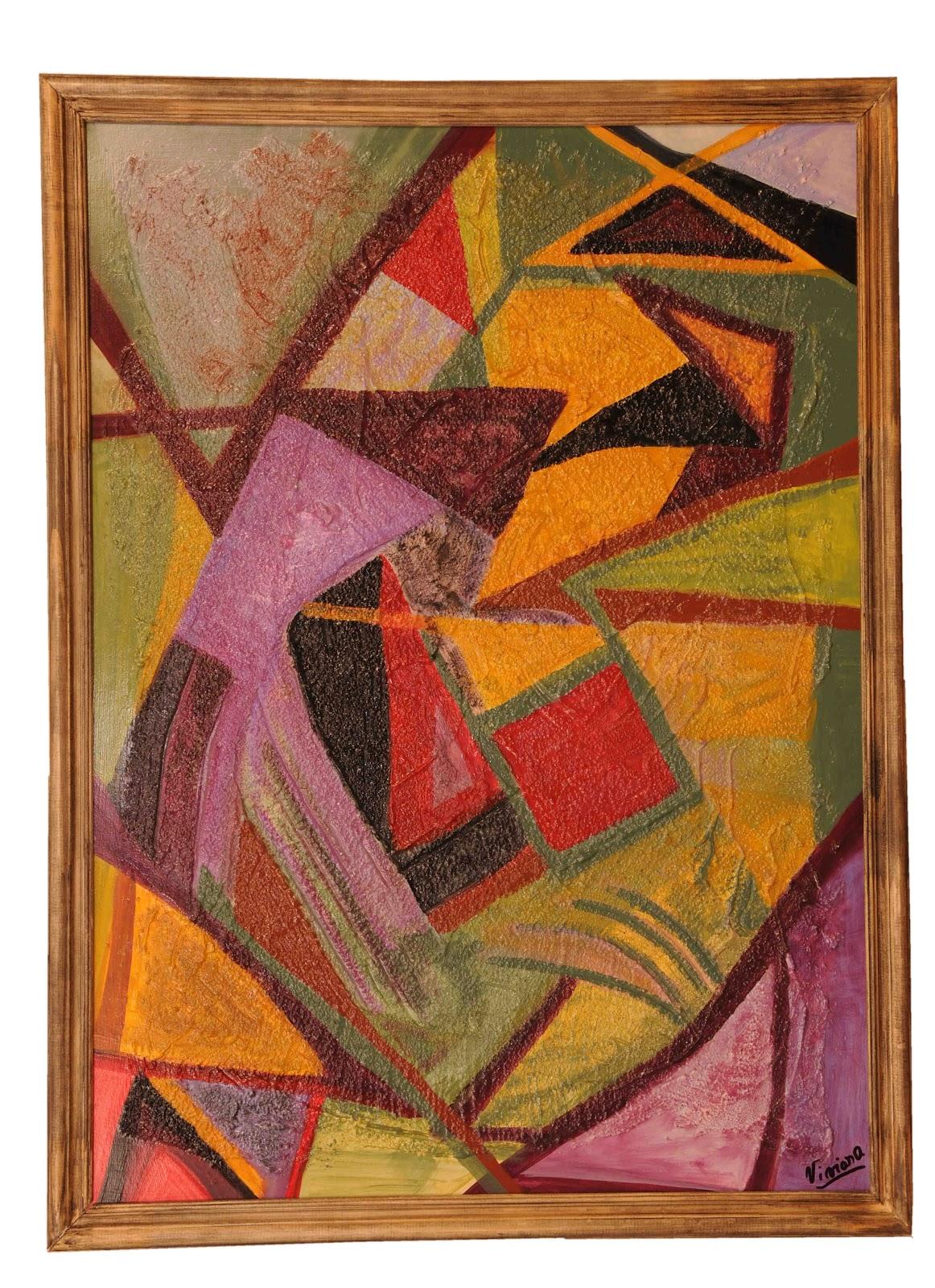 Cuadros abstractos enmarcados cuadrosabstractosvivianasusca for Cuadros en relieve abstractos