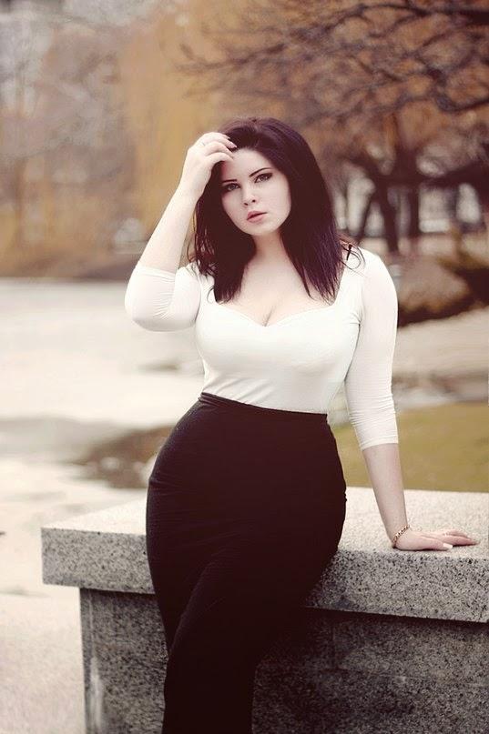 девушки фото красивые пышки