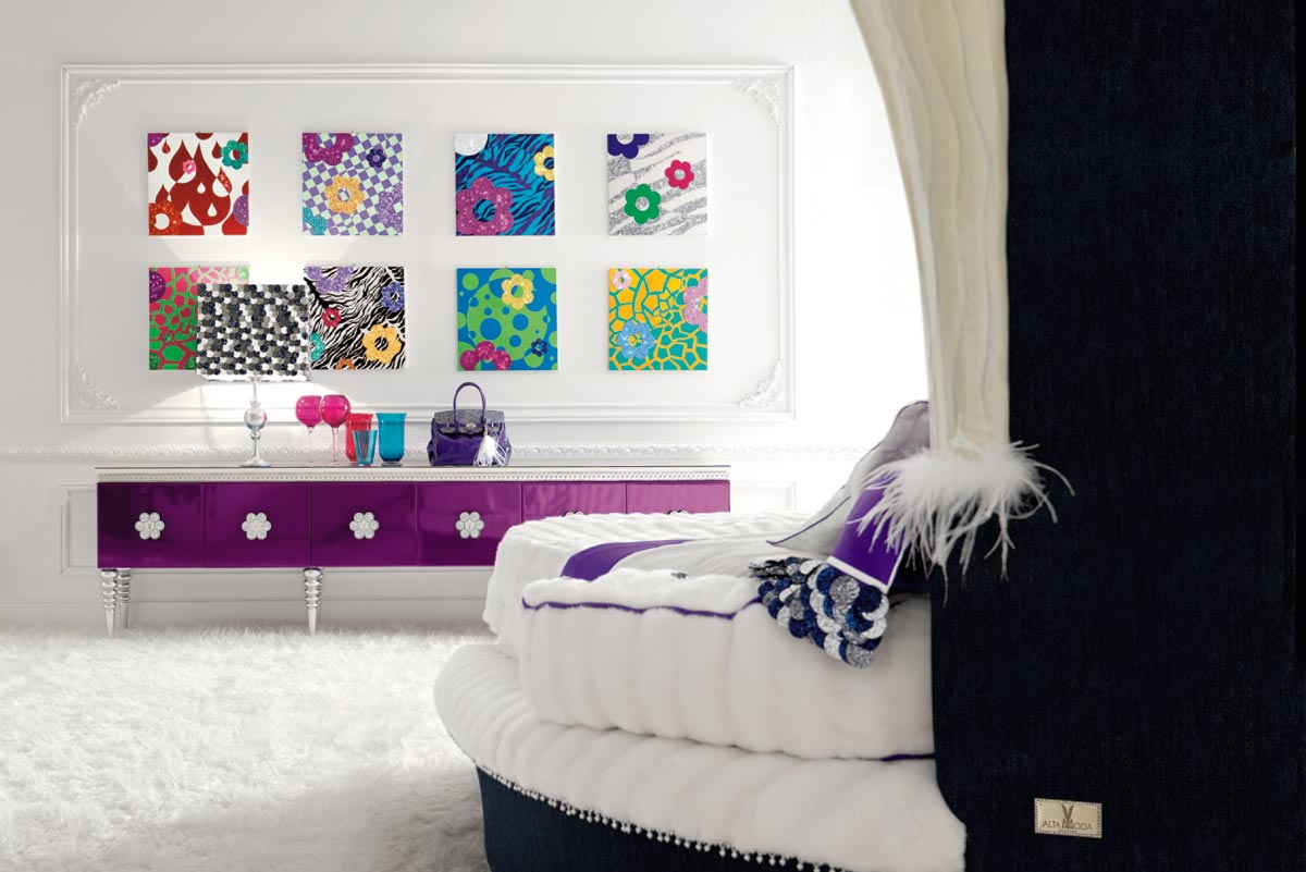 Funky Teenage Bedroom Ideas - Interior Living Room