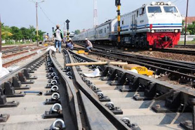 BANDAR CEME-Jalur Kereta Yang Makin Mengecil