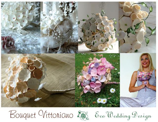 bouquet di carta per matrimonio eco friendly
