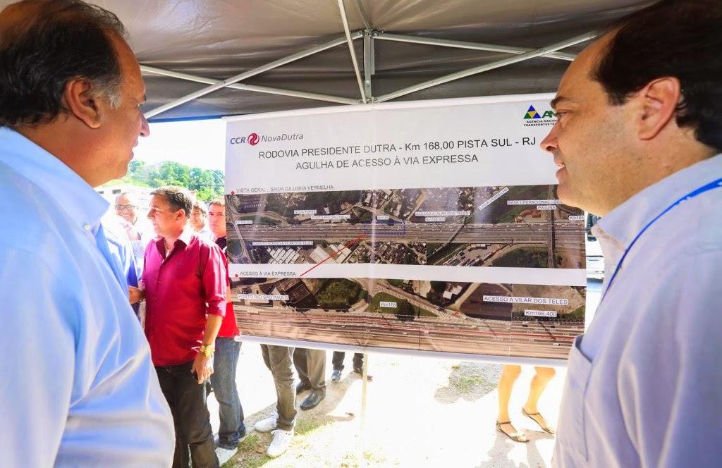 Novo acesso na Via Dutra no Estado do Rio é inaugurado
