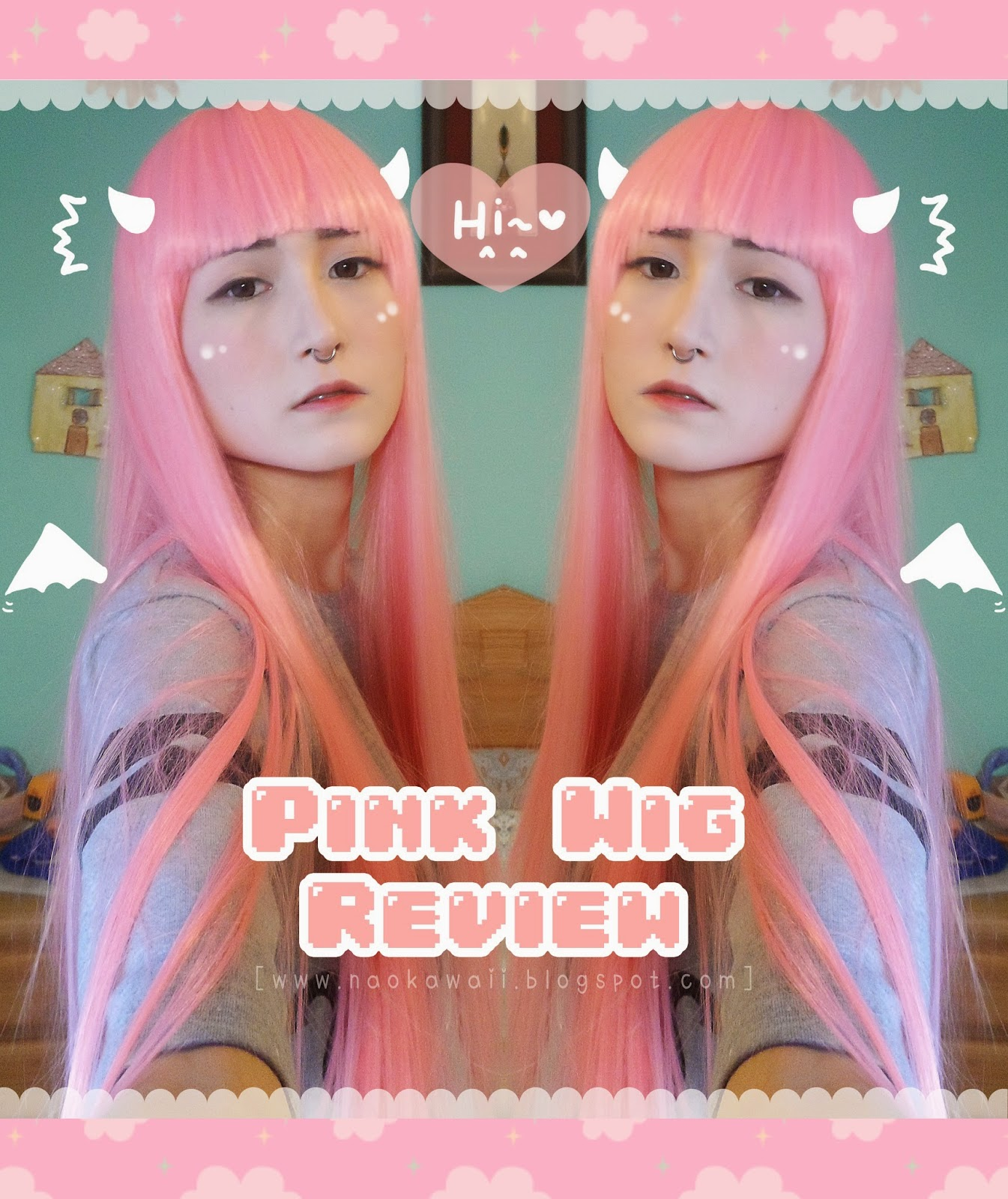 Ebay Pink Wig Review 25