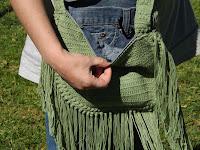 Detalle bolso de crochet