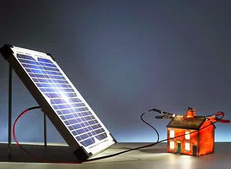 Ilustrasi Solar Cell Energy