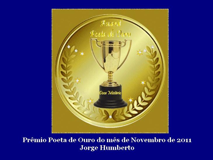 Poeta de Ouro mês de Novembro de 2011