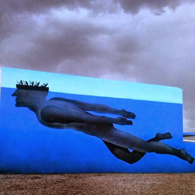 mural de sam3 en vilareal