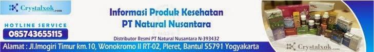 Dapatkan Crystal X Asli Dari PT Natural Nusantara (NASA)