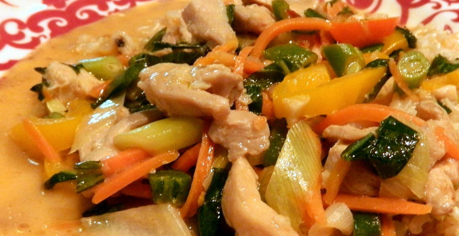 Murph's Kitchen: Thai Chicken Stir Fry with Basil, Lime ...