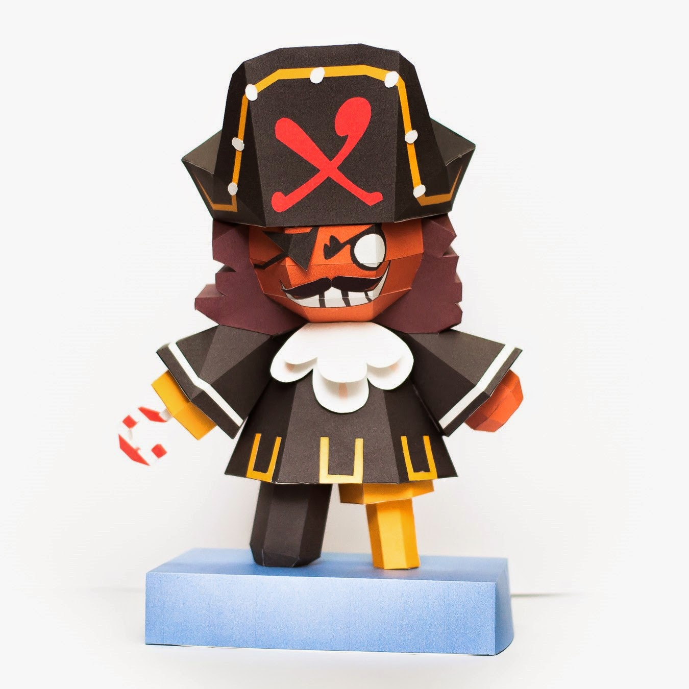 Cookie Run Pirate Cookie Papercraft
