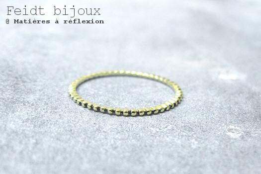 Feidt bijoux bague or