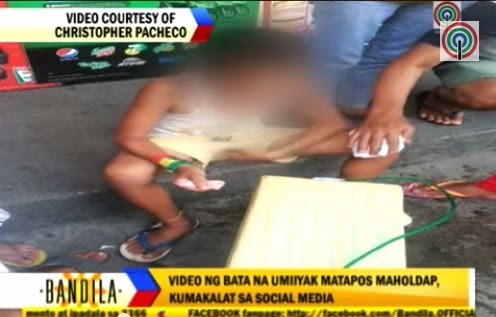 Pandesal vendor boy traumatized after his P200 earnings robbed