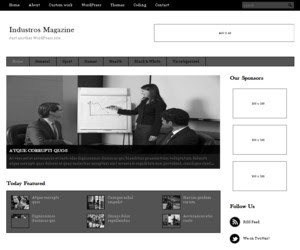 Industros Magazine WordPress Theme