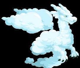 imagen del dragon nube