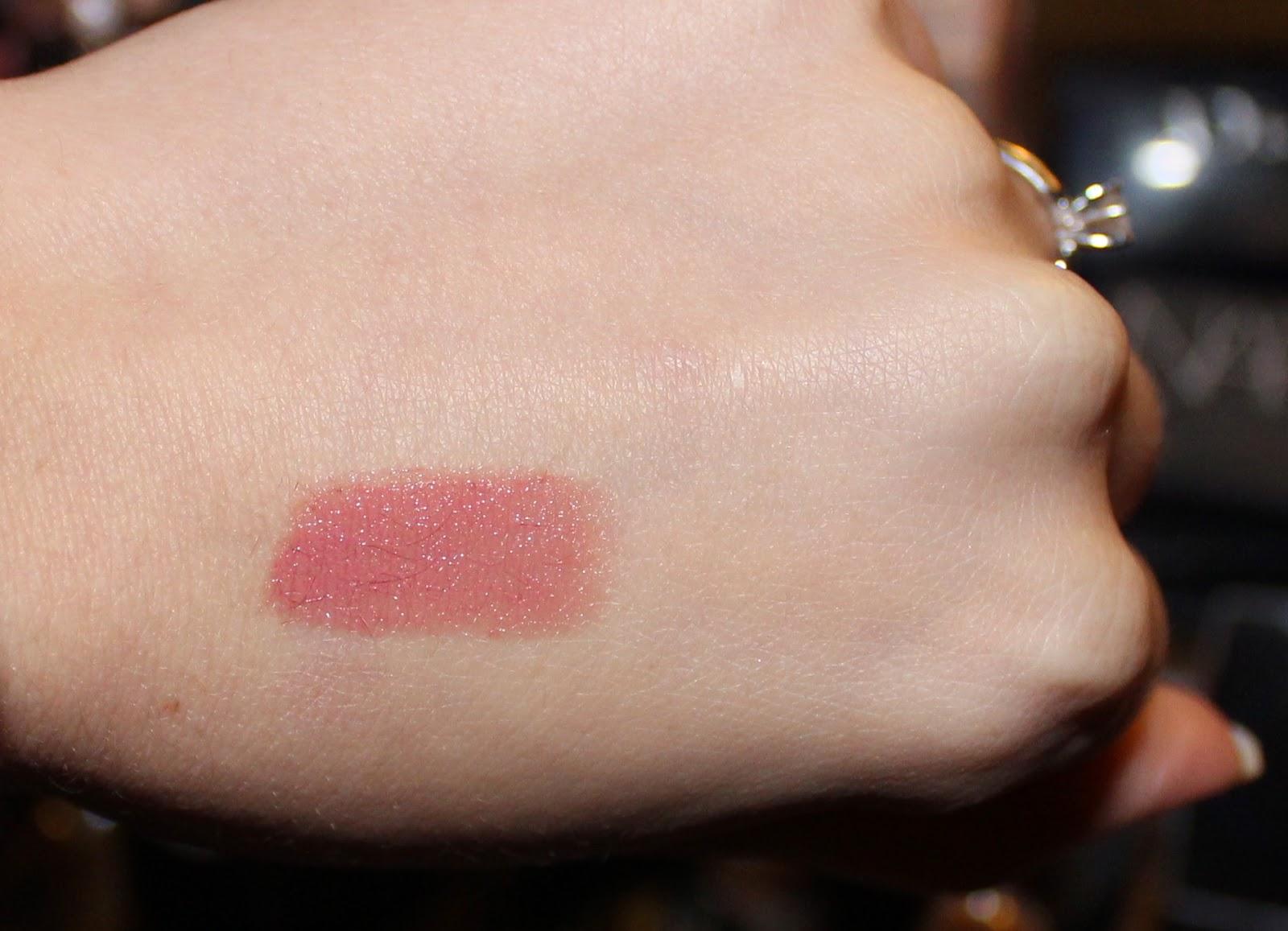 Burberry Lip Cover in Tulip Pink No. 27 Swatch