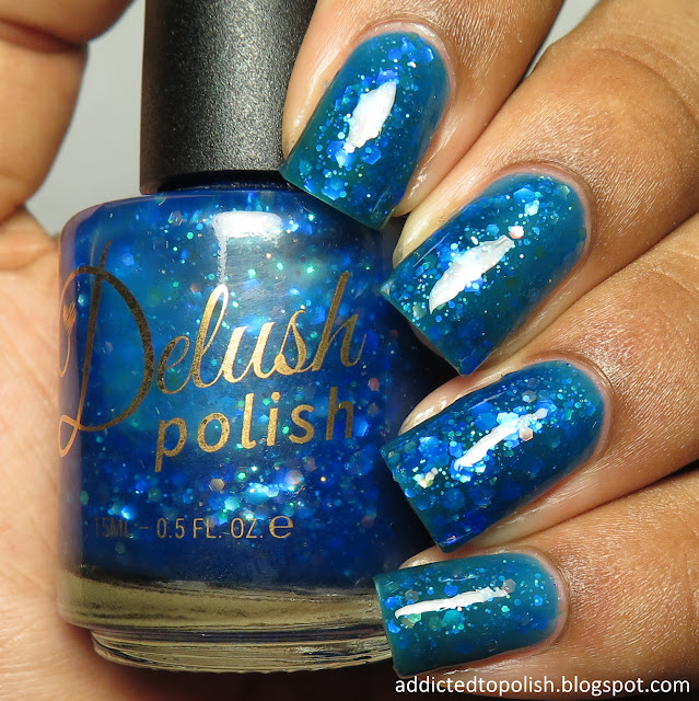 delush polish dancing with dragons