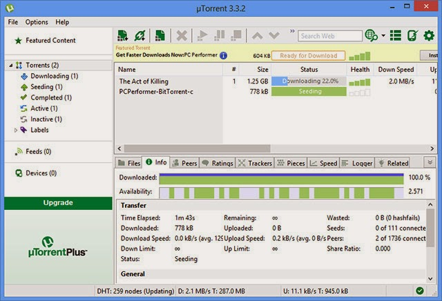 download utorrent 3.3 for android