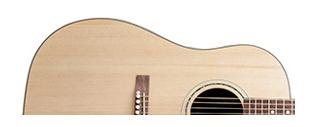 bentuk body gitar akustik