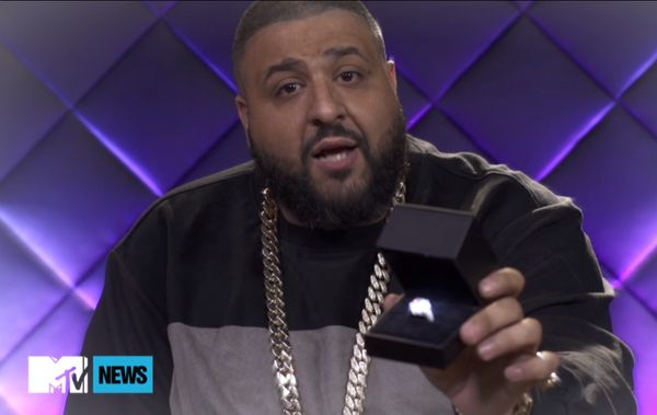 dj khaled propose nicki minaj ring