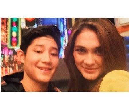 Foto Instagram Rassya Islamay Passya Selfie dengan Luna Maya 2014 Terbaru