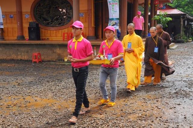 Bế mạc,khóa tu,mùa hè, chùa Hoa Khai, năm 2014