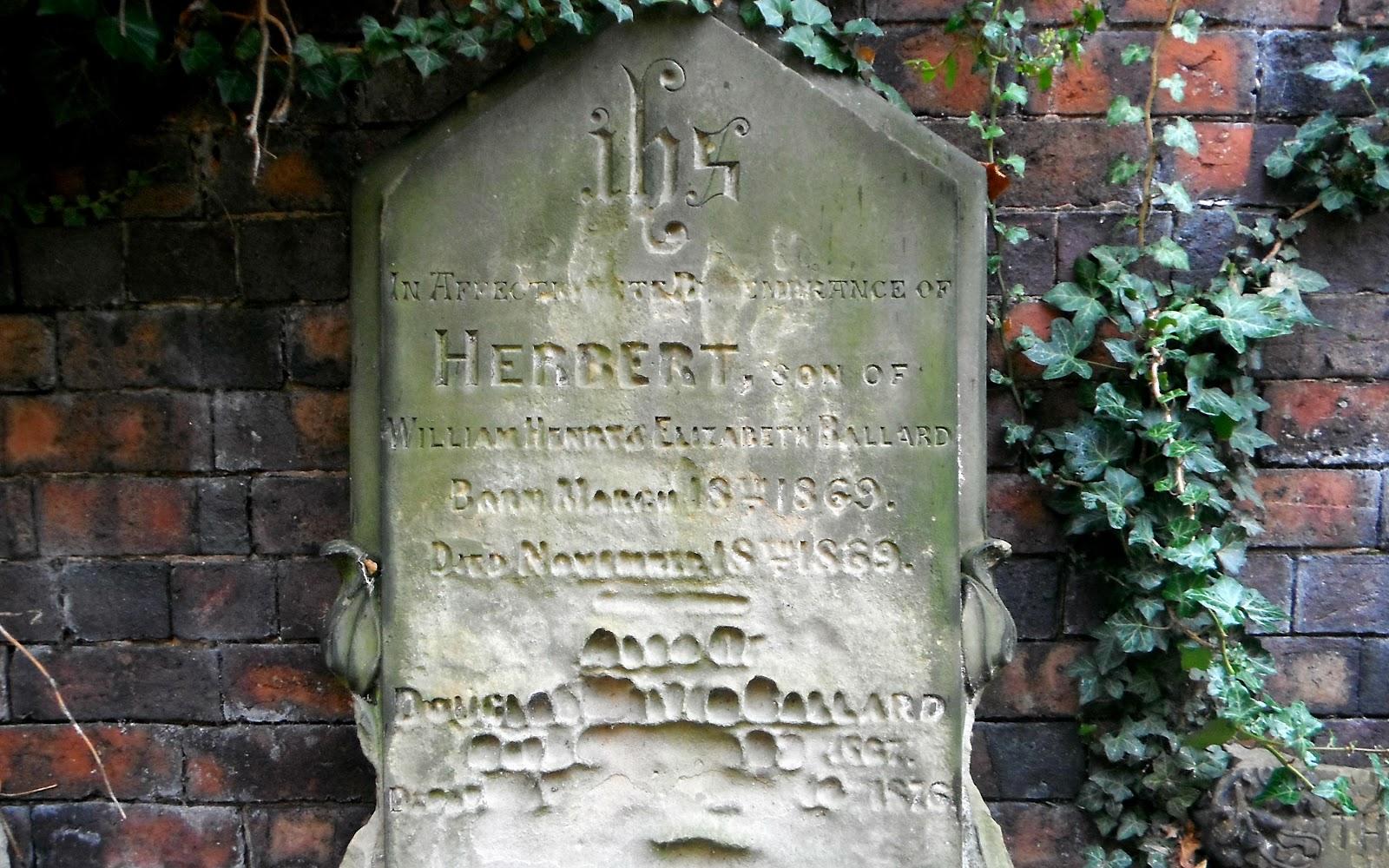 Tombstone at Tamworth
