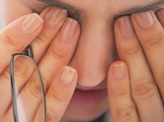 Mata Lelah terlalu lama didepan komputer