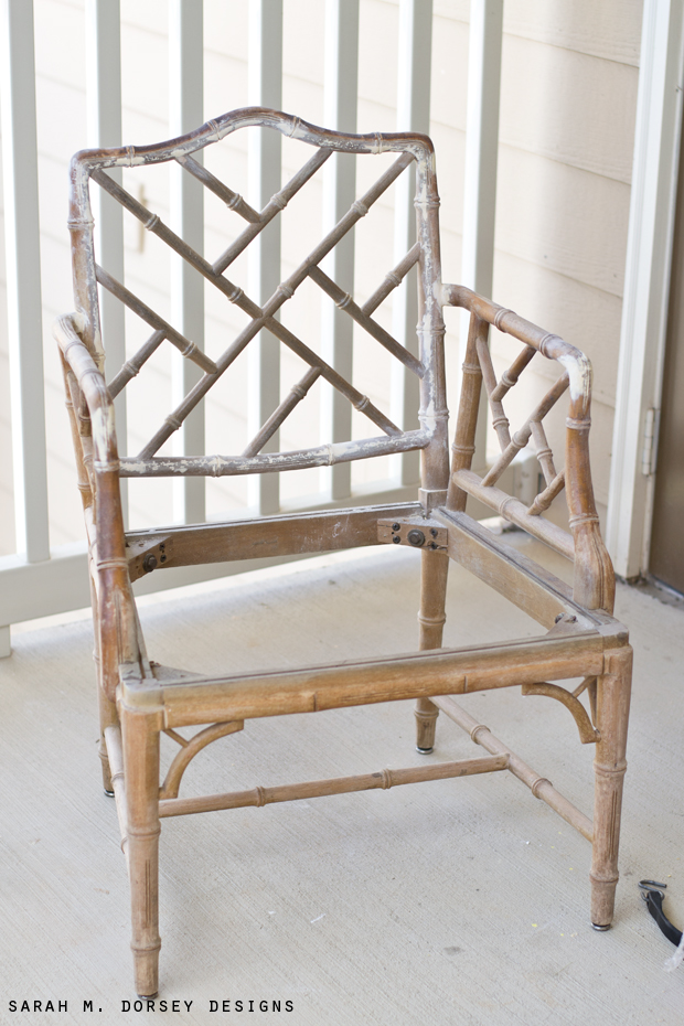 ... So Many Facets To This Chair, Every Time You Look, You Find More .. The  Flat File Took The Finish Off SUPER Quick .. There Was Just A Lot To Take  Off.