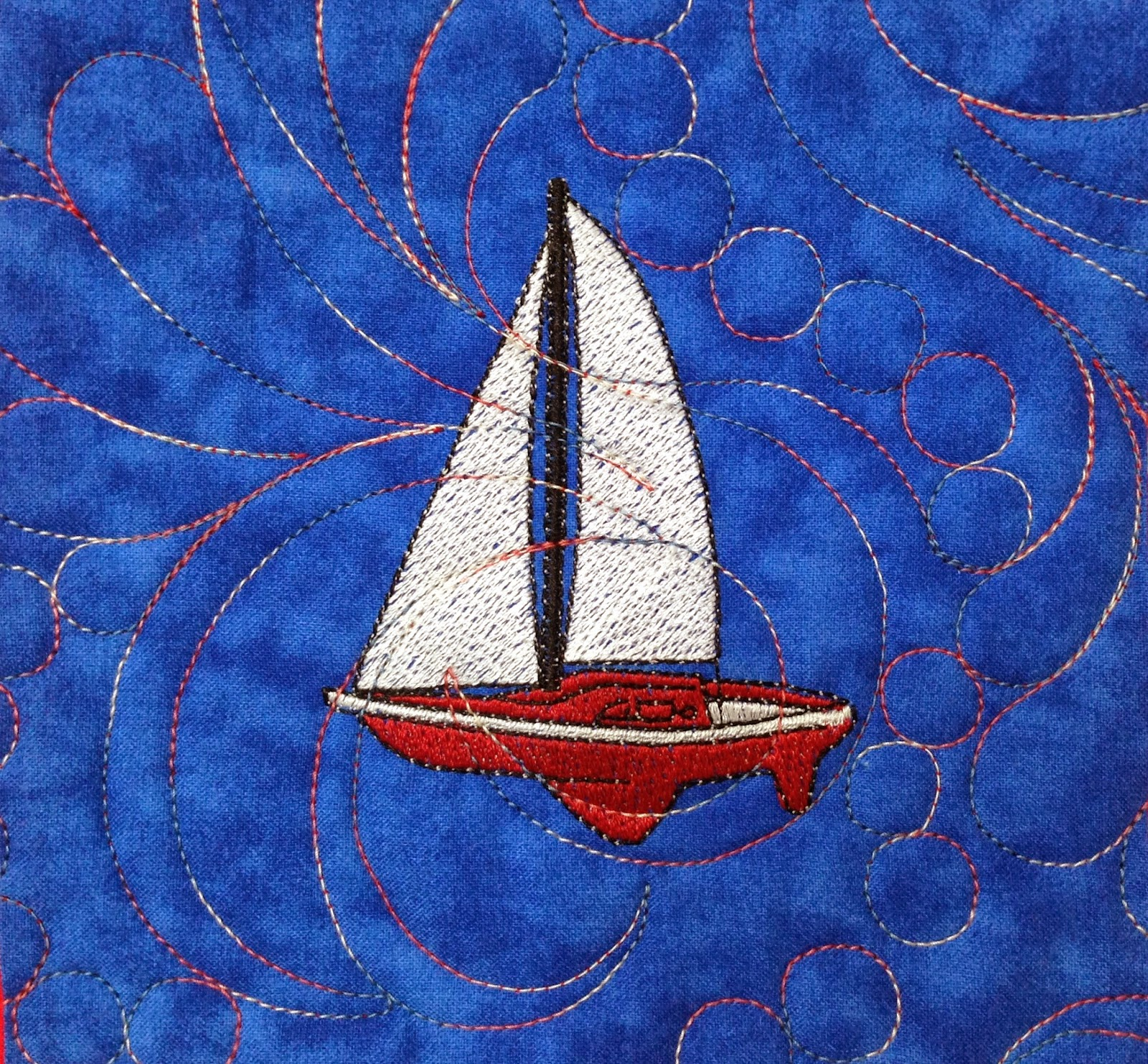 Leanne Strum Nautical Quilt