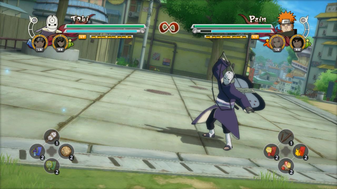Cara Main Game Naruto Revolution Pake Stik