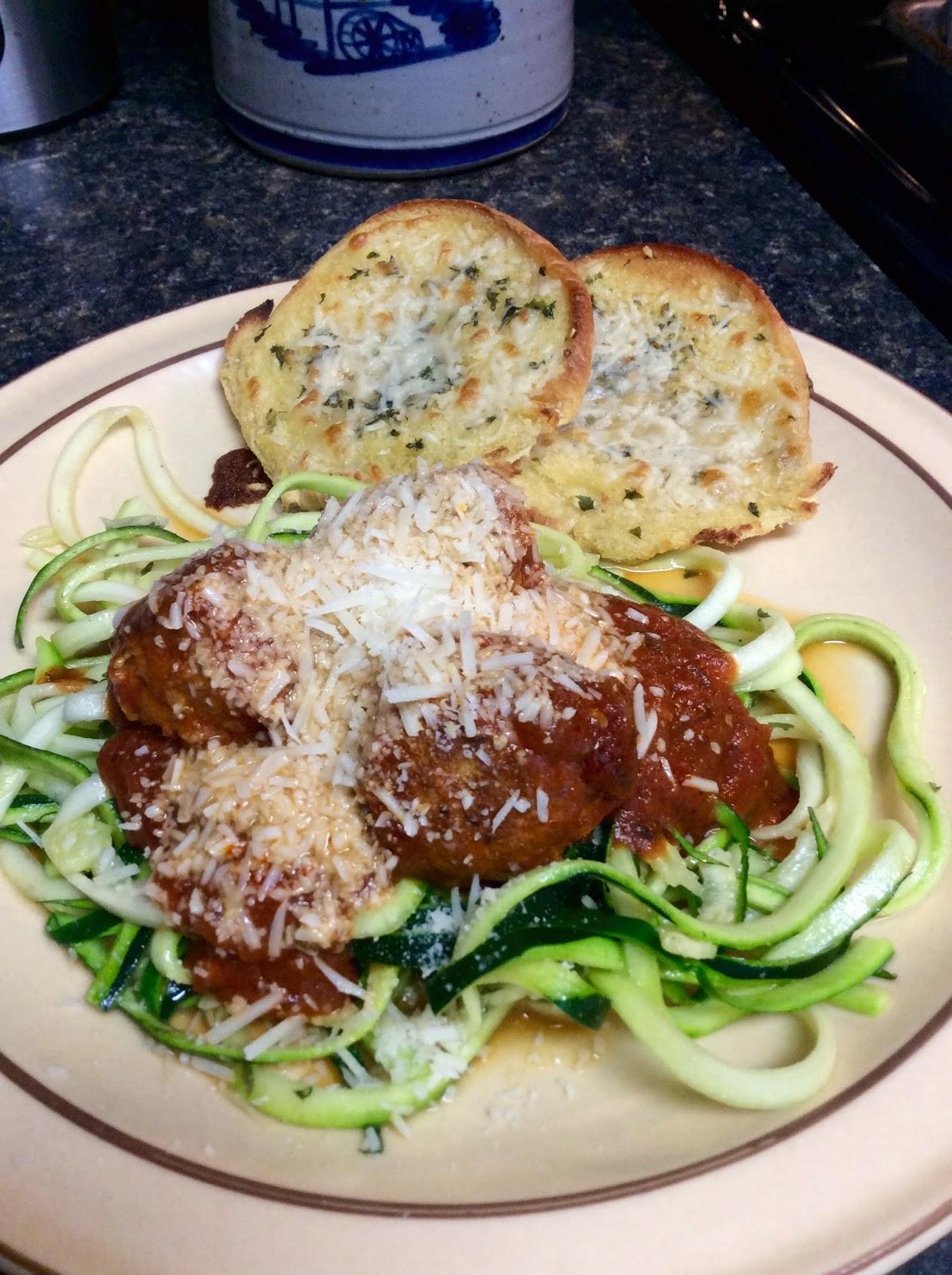 Valerie 39 s favorite recipes crock pot turkey meatballs for Zucchini noodles and meatballs recipe