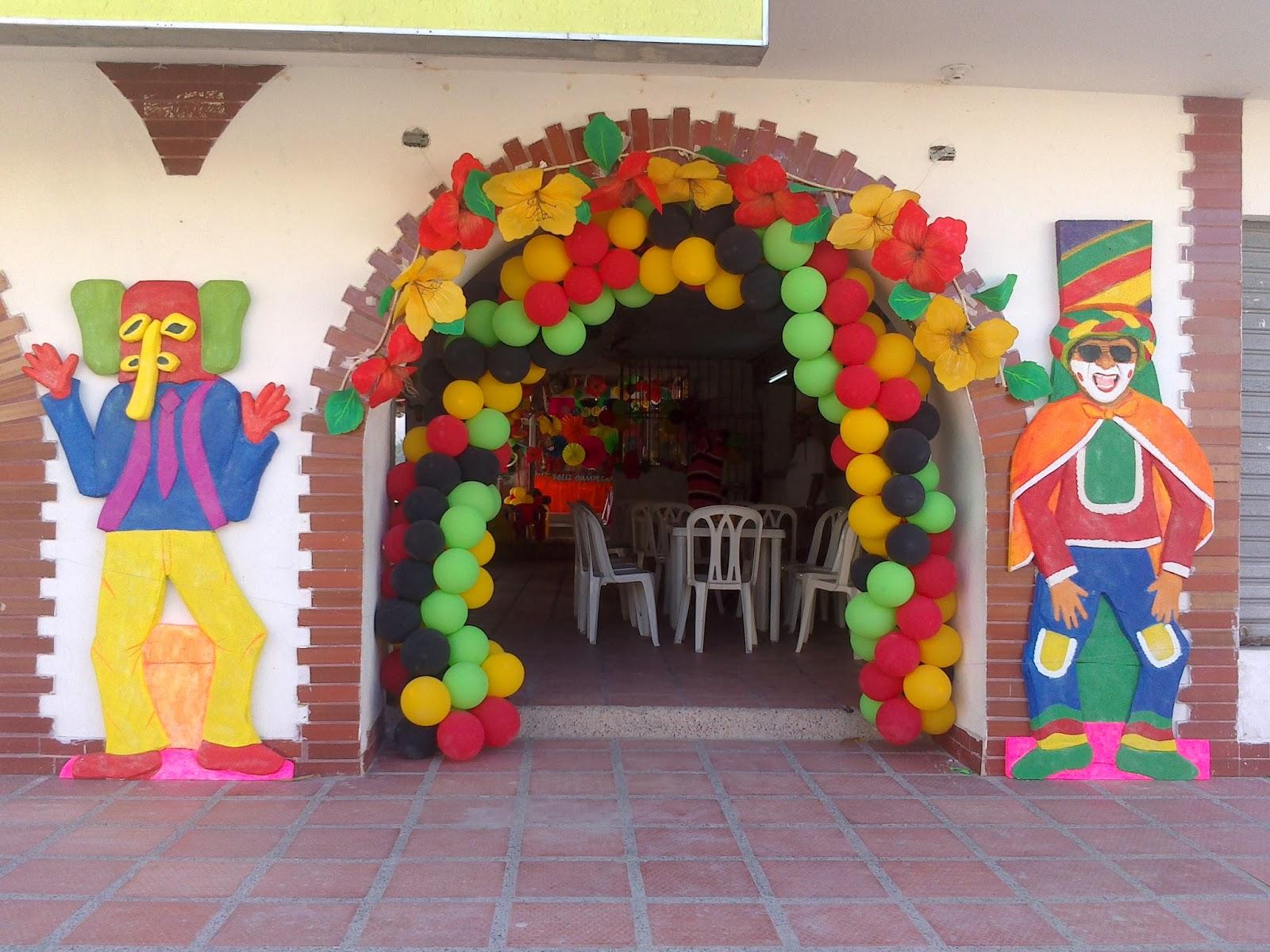 fest n man a decoraci n carnaval 25 de enero 2014