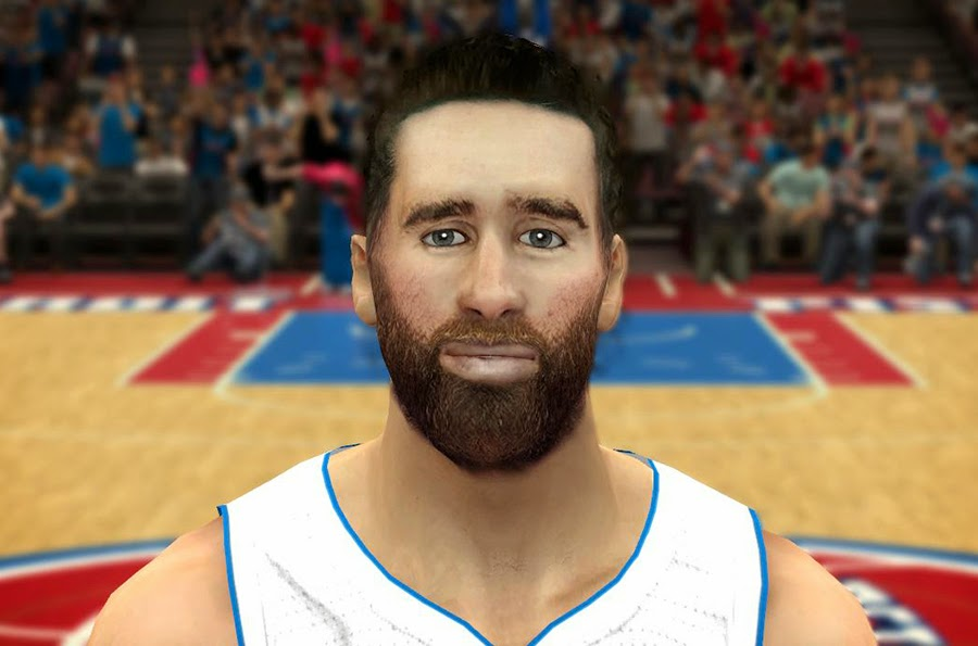 NBA 2K14 Luigi Datome Face Mod