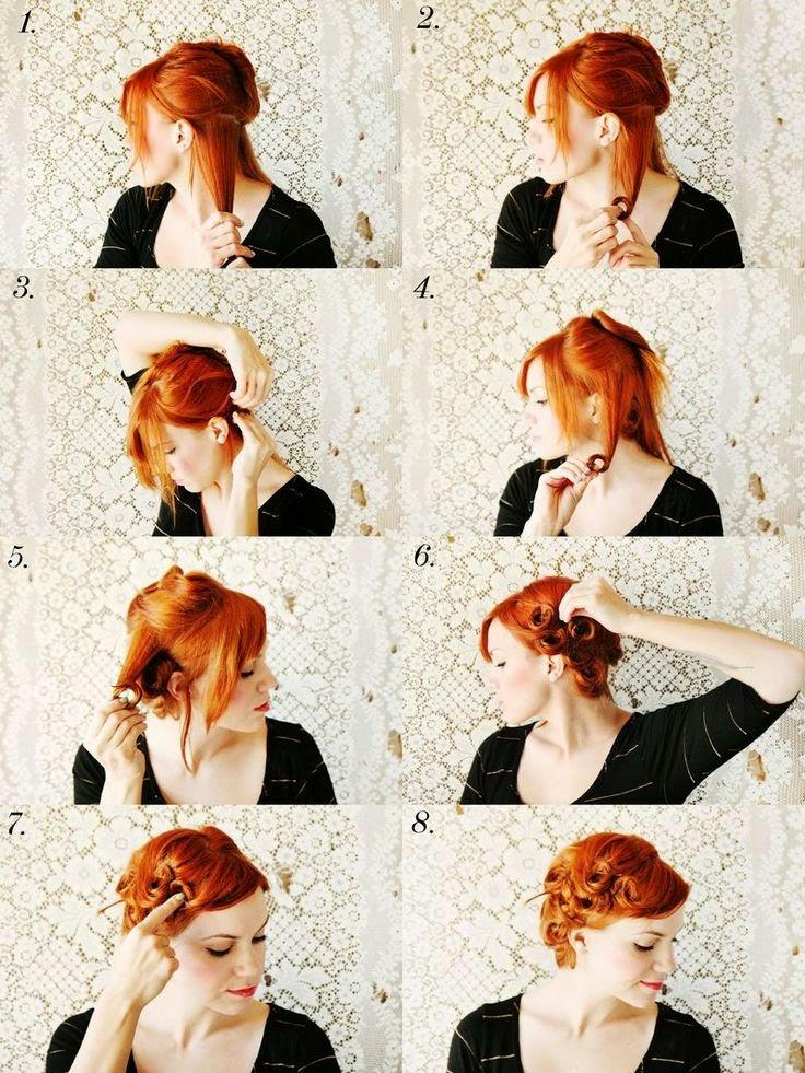 Vintage Hairstyles: Vintage Hair Fashion (2)