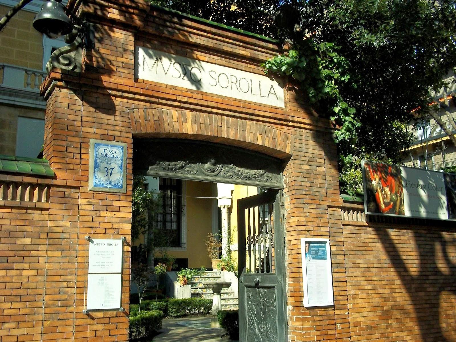 Mi dosis de energ a casa museo sorolla - Casa de sorolla en madrid ...