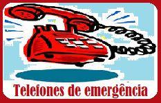 Telefones úteis e de emergência