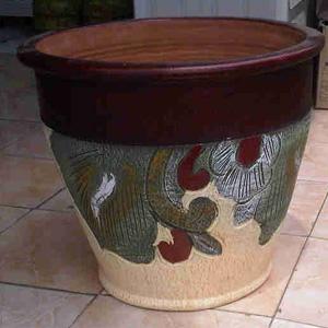 Pot Corak Bunga - Rp. 40.000