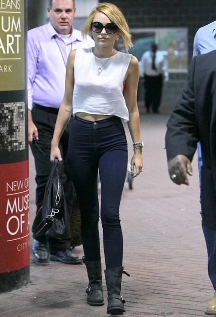 Teenage Dream Miley Cyrus Street Style