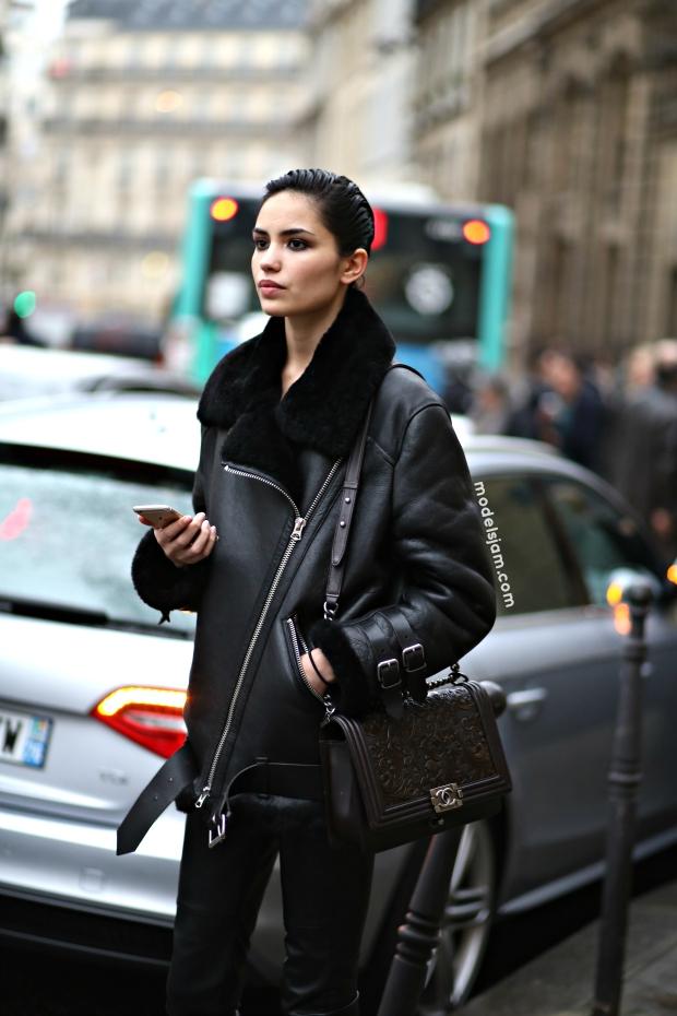 Irina Sharipova, Paris, January 2015