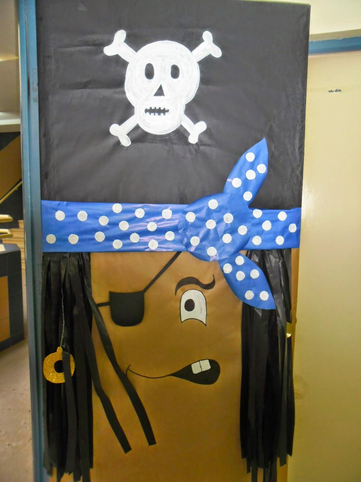 Educaci n infantil ceip padre manjon puerta pirata de 5 a os for Puertas decoradas educacion infantil
