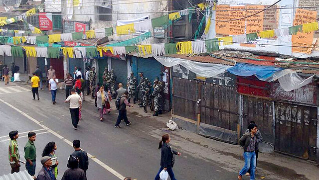 Darjeeling has witnessed frequent bandhs over the years, with the Gorkha National Liberation Front and GJM enforcing shutdowns in support of their demand for a separate state of Gorkhaland. (HT Photo)