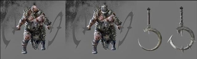 Hardest Enemy Concept Art scariest monster