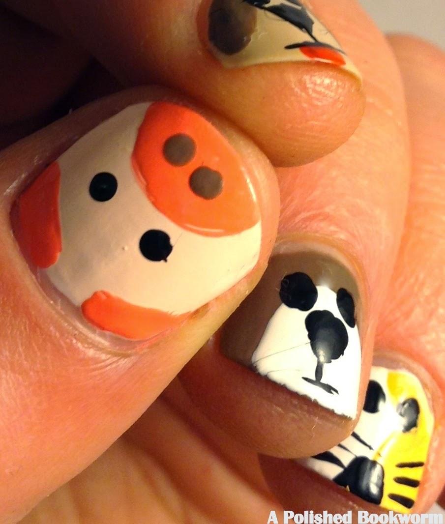 Emoji Nail Art And Some New Kit From Moyou: Emoji Nail Art Animals Edition