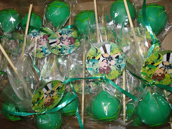Ben 10 Cake Pops