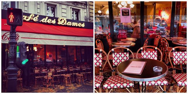 Un quartiere profondamente parigino, il café des Dames - Foto di Elisa Chisana Hoshi