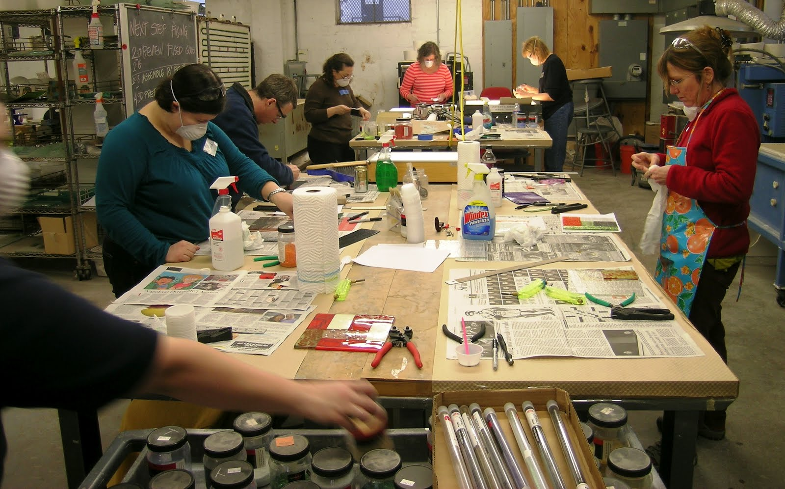 Fused Glass Class | Washington Glass Studio
